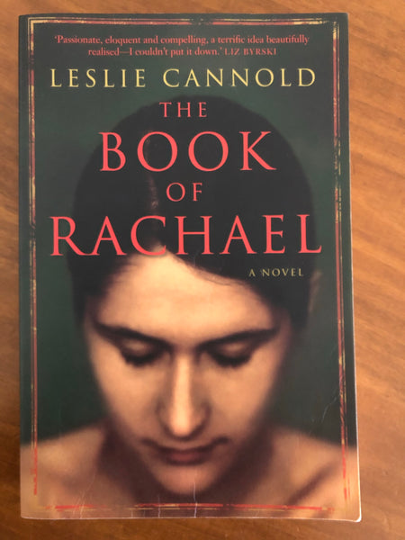 Cannold, Leslie - Book of Rachael (Trade Paperback)