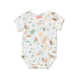 Halcyon Nights Short Sleeve Bodysuit - Outback Dreamers