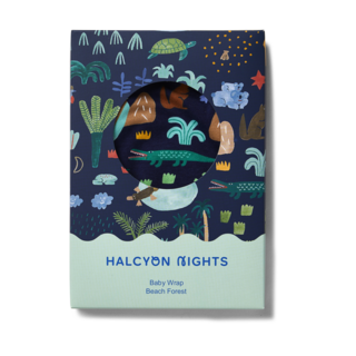 Halcyon Nights Wrap - Beach Forest