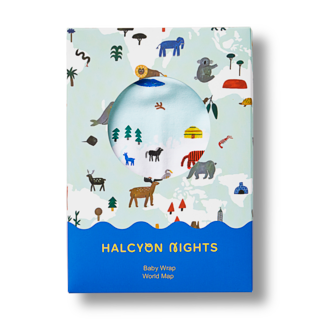 Halcyon Nights Wrap - World Map