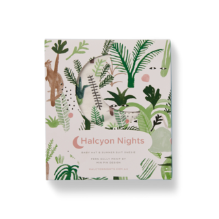 Halcyon Nights Gift Pack - Fern Gully (Baby Hat & Short Sleeve Bodysuit)