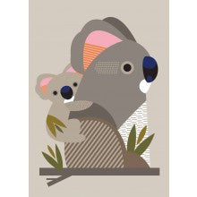 Greeting Card - Koala