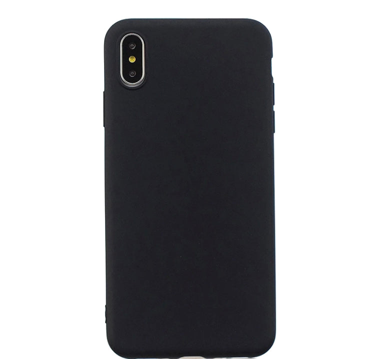 Husa iPhone Xs Max din silicon neagra