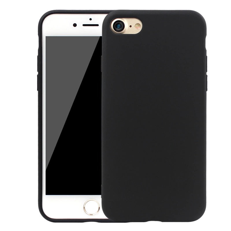 Husa iPhone 7/8 din silicon neagra