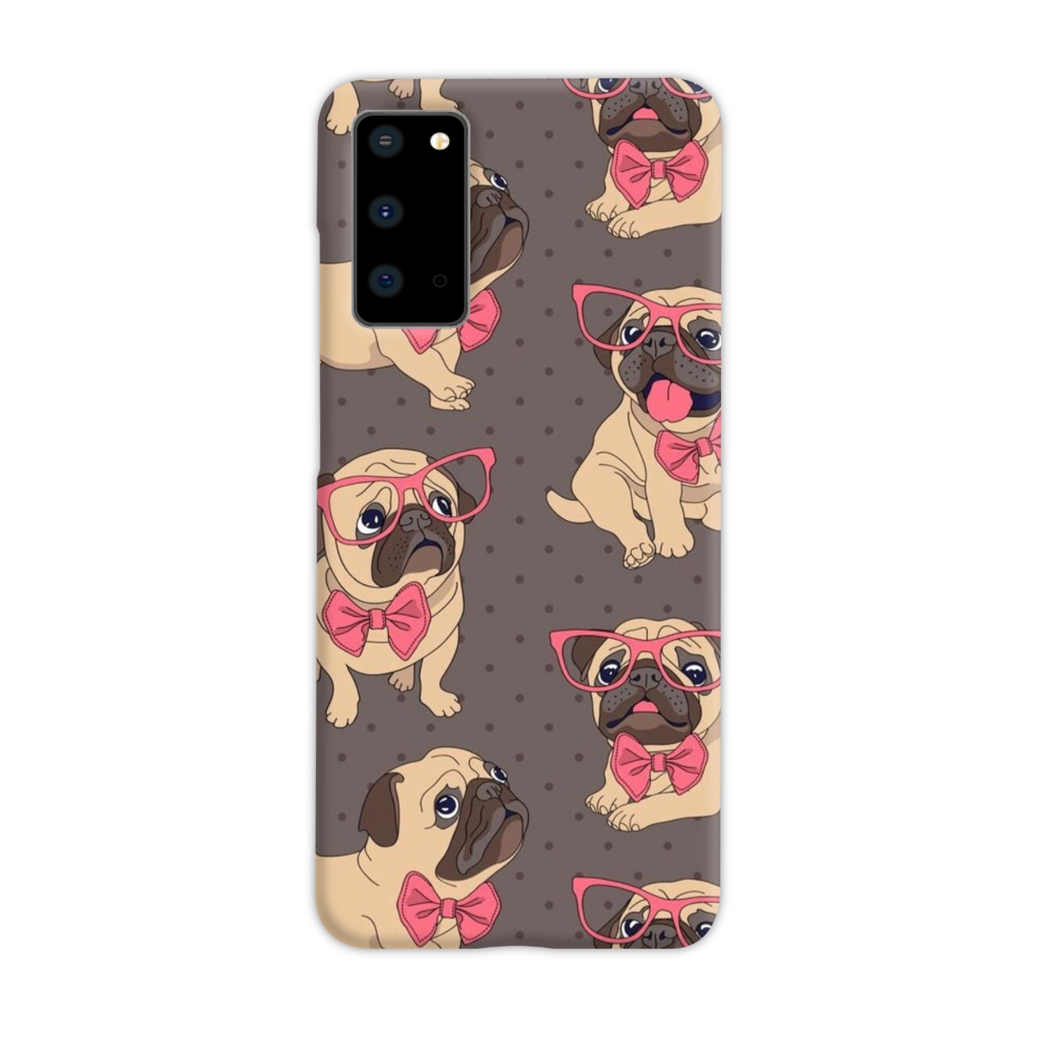 Pretty Pink Pug - Style Loft Cases