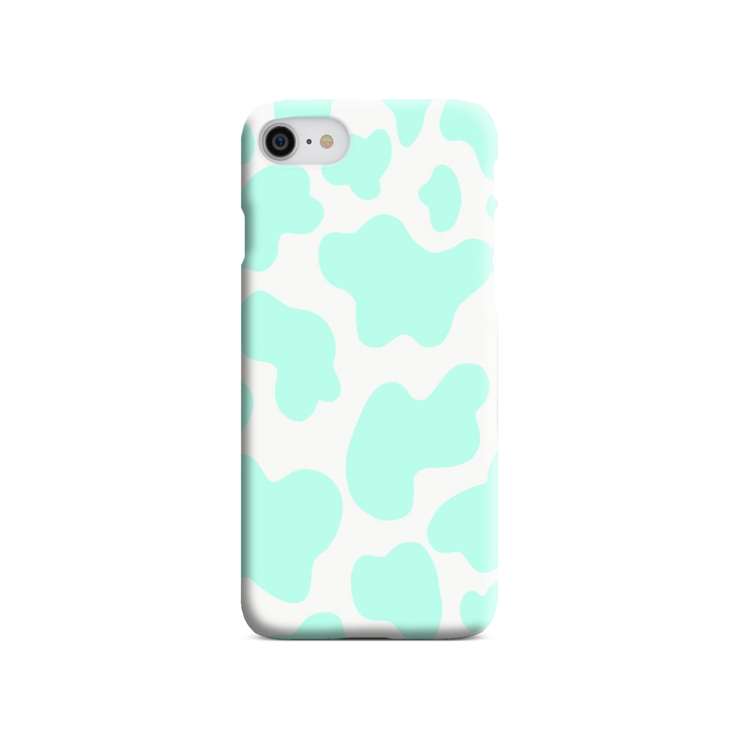Mint Cow Print - Style Loft Cases
