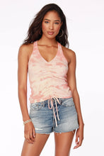 Load image into Gallery viewer, Tie Dye Drawstring Tank