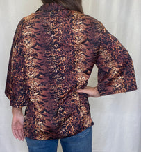 Load image into Gallery viewer, Georgia Animal Print Top