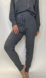 Cozy Charcoal Sweater Joggers