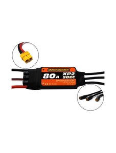 Overlander XP2 80A SBEC BRUSHLESS RTF (WITH XT60) SPEED CONTROLLER