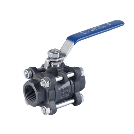 ARITA 3 PC Body Ball Valve Carbon Steel 1000PSI - Unimech