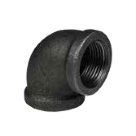90 Degree Elbow Threaded Ductile Iron
