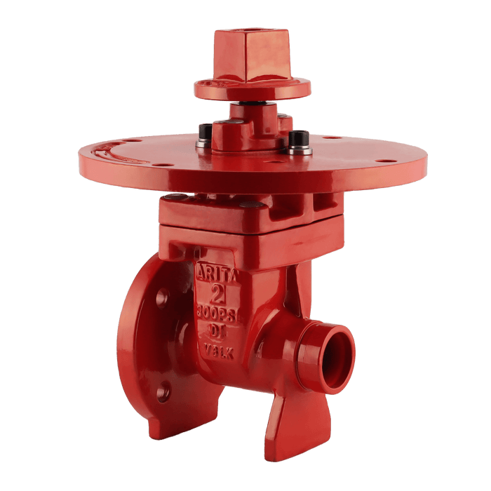 ARITA UL/FM Fire Protection NRS Gate Valve 300PSI Flange Groove - Unimech