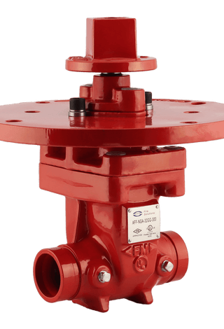 "ARITA UL/FM Fire Protection NRS Gate Valve 300PSI Groove End 2""-12"" - Unimech"