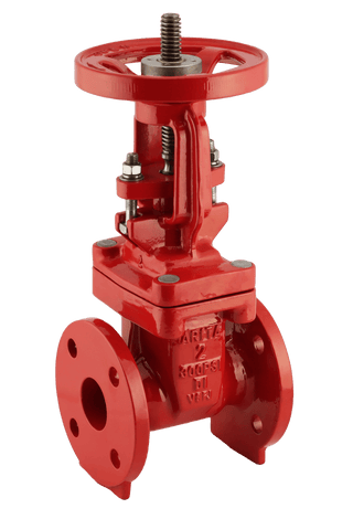 "ARITA UL/FM Fire Protection OS&Y Gate Valve 300PSI Flange End 2""-12"" - Unimech"