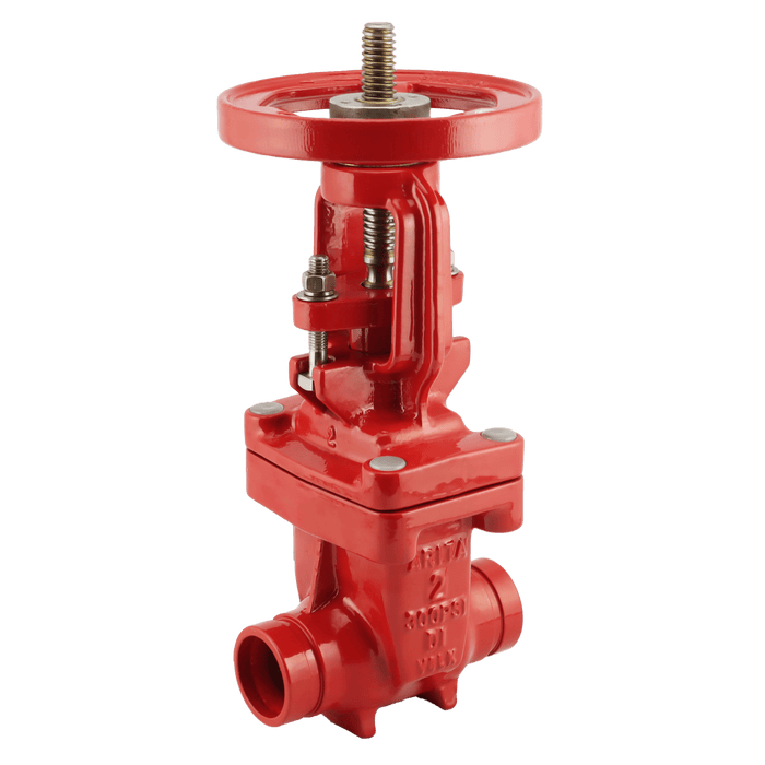 ARITA UL/FM Fire Protection OS&Y Gate Valve 300PSI Groove End - Unimech