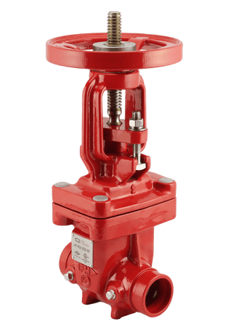 "ARITA UL/FM Fire Protection OS&Y Gate Valve 300PSI Groove End 2""-12"" - Unimech"