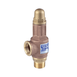 ARITA Safety Relief Valve Thread End Bronze - Unimech