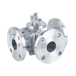 ARITA Three Way Ball Valve Stainless Steel Class 150 - Unimech
