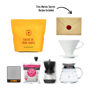 STAY AT HOME Brewing Kit 1 - V60 - Tres Marias Coffee Company