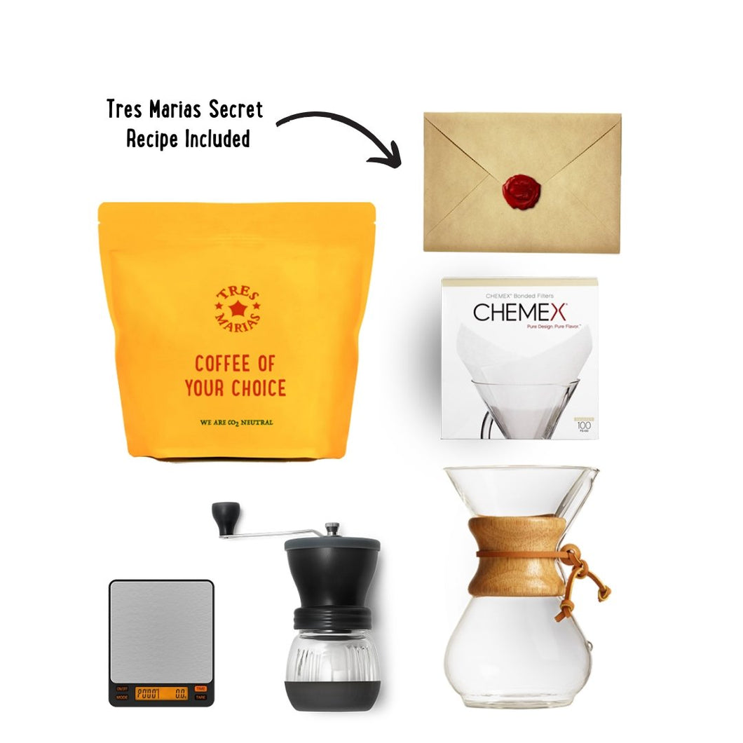 STAY HOME Brewing Kit 2 - Chemex