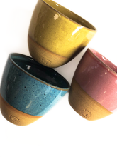 Load image into Gallery viewer, Tres Marias Hand Made Ceramic Cups - Espresso, Piccolo and Black Coffee - Tres Marias Coffee Company