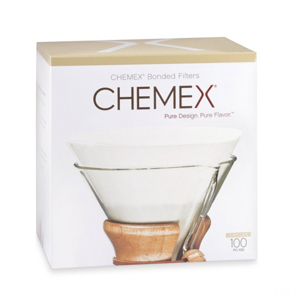 Três Marias Brewing Equipments - Chemex Natural Coffee Filters, Square, 100 Count