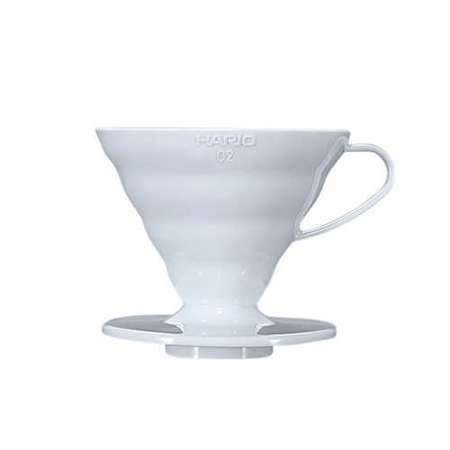 Três Marias Coffee Brewing Equipments - Hario Pour Over Plastic Dripper Size 02 - Tres Marias Coffee Company