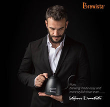 Load image into Gallery viewer, Três Marias Brewing Equipments - Brewista Artisan 600mL Gooseneck Variable Temperature Kettle Stefanos Signature Limited Edition - Tres Marias Coffee Company