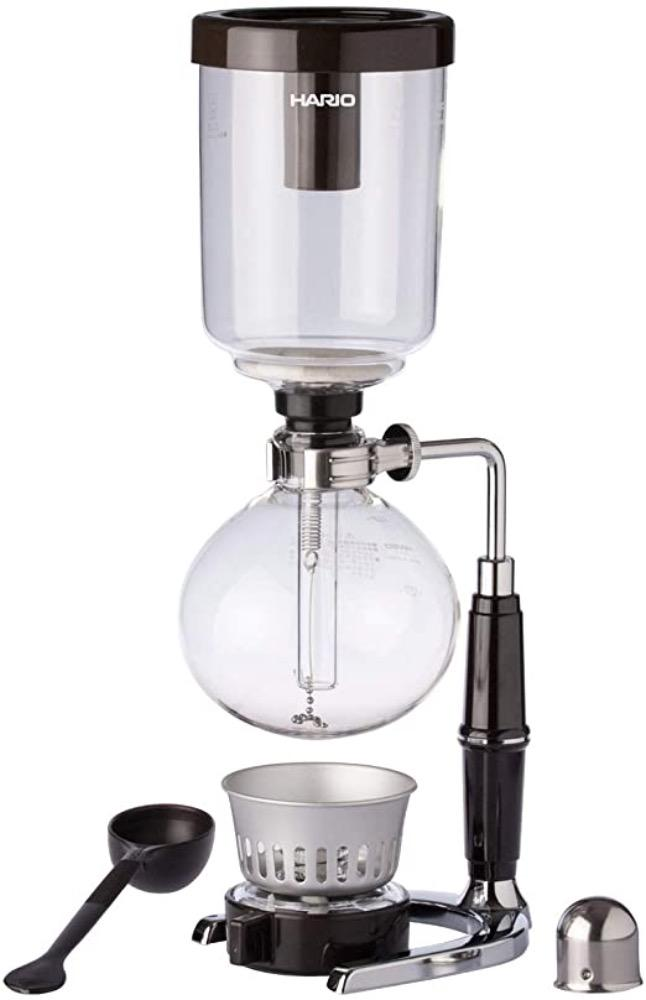 Três Marias Brewing Equipments - Technica Syphon Coffee Maker 3 cups - Tres Marias Coffee Company