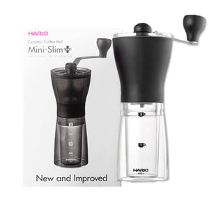 Três Marias Coffee Equipments - Hario Slim - Ceramic Coffee Mill - Tres Marias Coffee Company