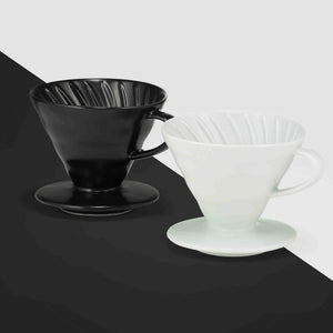 Três Marias Coffee Brewing Equipments - Hario Pour Over Ceramic Dripper Size 02