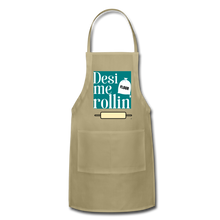 Load image into Gallery viewer, Desi Me Rollin' - Adjustable Apron - khaki