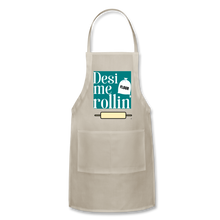 Load image into Gallery viewer, Desi Me Rollin' - Adjustable Apron - natural