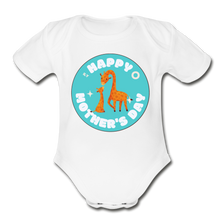 Load image into Gallery viewer, Happy Mother's Day-  Baby Onesie - white