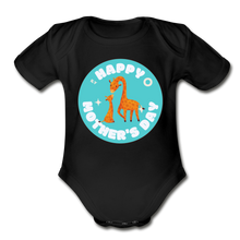 Load image into Gallery viewer, Happy Mother's Day-  Baby Onesie - black