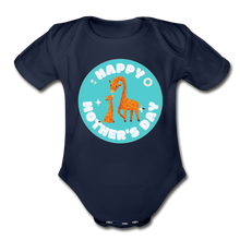 Load image into Gallery viewer, Happy Mother's Day-  Baby Onesie - dark navy