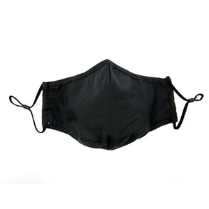 3 Adult 100% Cotton Cloth Masks with PM2.5 Filter