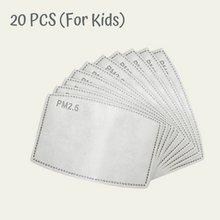 Load image into Gallery viewer, Kids PM2.5 Filter For Face Masks(Pack of 20)