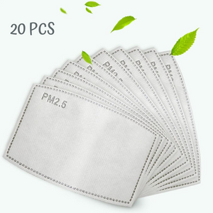 Adult PM2.5 Filter For Face Masks(Pack of 20)