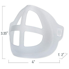 Load image into Gallery viewer, 3D Mask Bracket For Comfortable Breathing and Makeup Saving (Pack of 5)