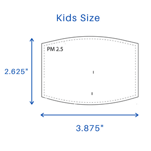 Kids PM2.5 Filter For Face Masks(Pack of 20)