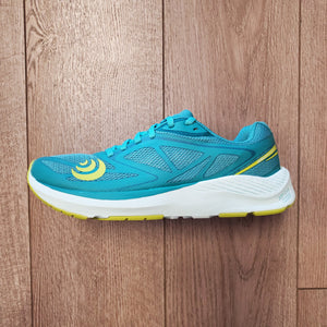 Topo Athletic Women's Zephyr - Teal/Lime