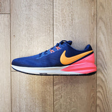 Load image into Gallery viewer, Nike Women's Air Zoom Structure 22 -Blackend Blue/Orange Peel