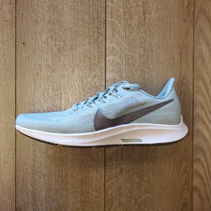 Nike Women's Zoom Pegasus 36 - Ocean Cube/Pure Platinum/White/Metallic Cool Grey