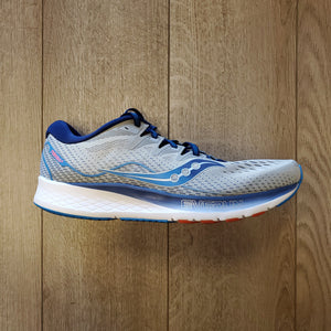Saucony Men's Ride ISO 2 - Grey/Blue