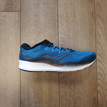 Load image into Gallery viewer, Saucony Men's Ride ISO 2 - Blue/Black