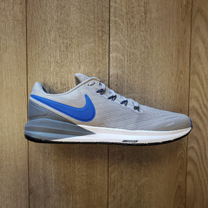 Nike Men's Air Zoom Structure 22 - Atmosphere Grey/Hyper Royal