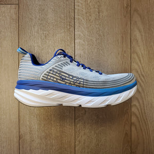 Hoka ONE ONE Men's Bondi 6 - Vapor Blue/Frost Gray