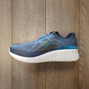 New Balance Men's Fresh Foam More - Gunmetal/Lead/Deep Ozone Blue